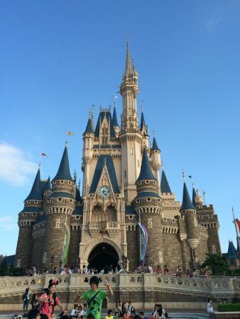 Urayasu, Japón: Disney castle.