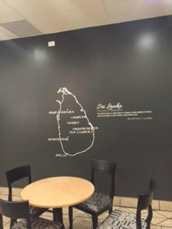 Inside Wall Decor - Picture of Sambol, Edmonton - TripAdvisor
