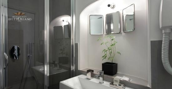 Residence Il Vittoriano: Bagno Suite