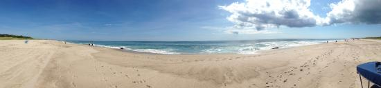 Nauset Beach at 1030AM on a Saturday in August