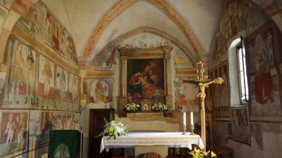 Clusone, Italy: Altare