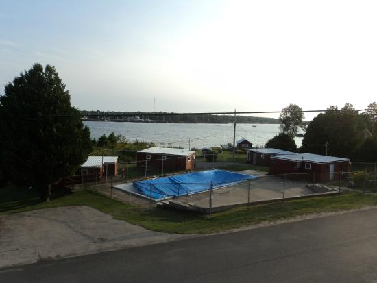 Tobermory Resort, Inn & Suites: view from room