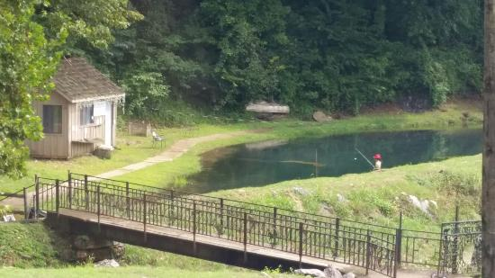 View of Trout Farm from DeVito's Restaurant