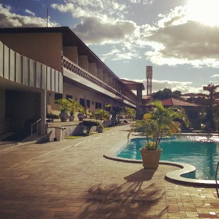 Hotel Estacao Cruzeiro : Vista lateral dos quartos
