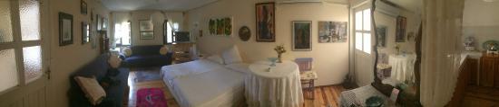 Rengigul Konukevi: odamızın panoramik görüntüsü