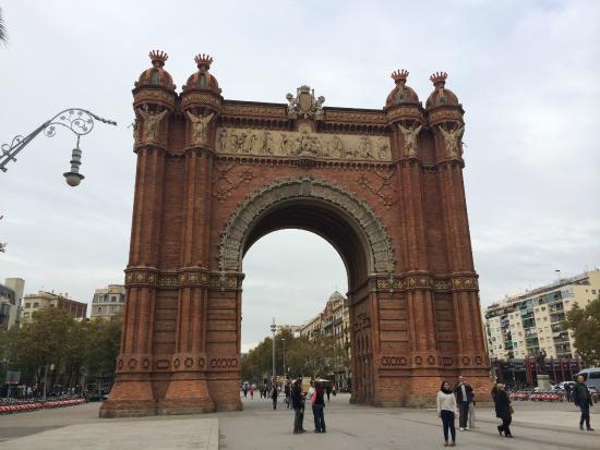 Parc de la Ciutadella: Arc de Triomf