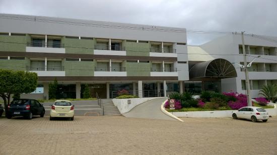Salgueiro, PE: Vista frontal - acesso ao hotel