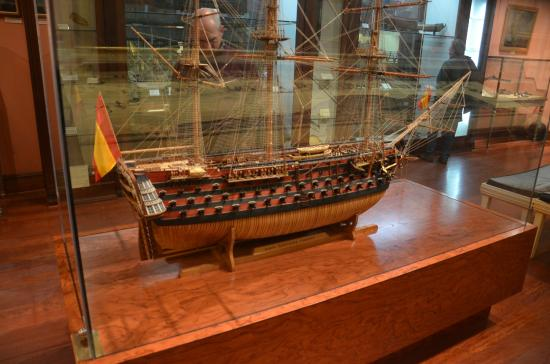 Buque Santísima trinidad - Picture of Naval Museum, Madrid - TripAdvisor