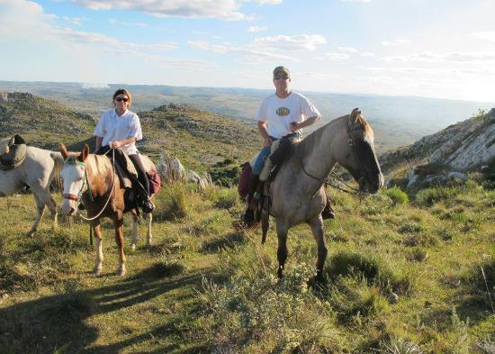Caballos De Luz: Up on to a sierra
