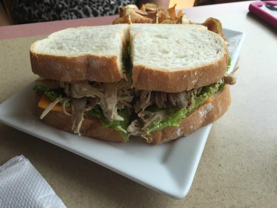 Belle Plaine, MN: Old School turkey sandwich