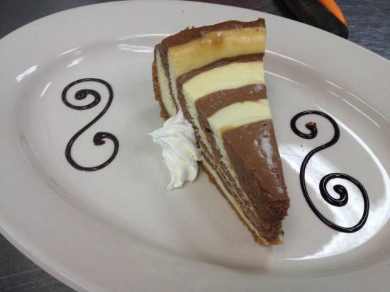 Sarver, PA: Zebra Swirl Cheesecake