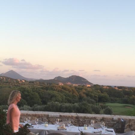 Navarino Dunes Golf: View from the bar