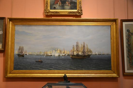 Cuadro Museo naval Madrid - Picture of Naval Museum ...