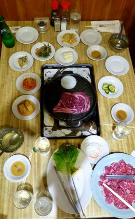 Dong Il Jang Restaurant: Steak Kobe style