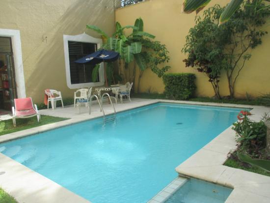 Hostel Tequila Backpacker: increible piscina