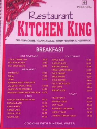 Restaurant Kitchen King Jaisalmer