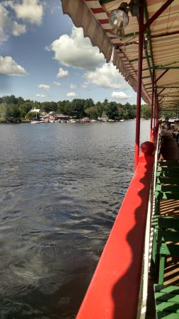 Songo River Queen: Looking to Rear