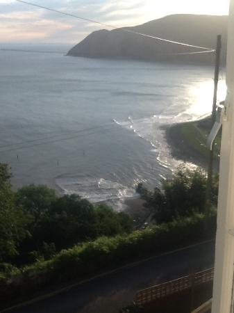 North Cliff Hotel: View from bedroom window