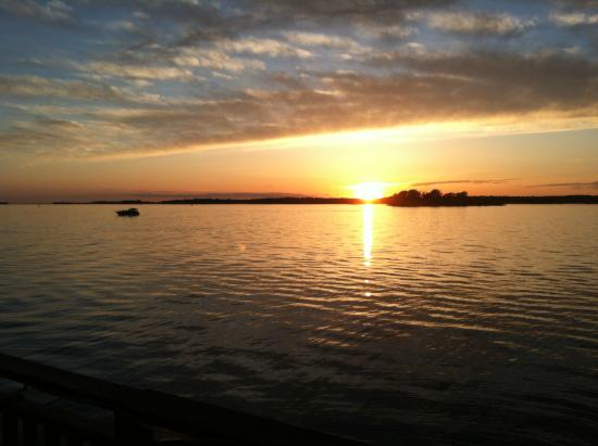 Henderson Harbor, NY: Spectacular View from Deck!