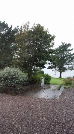 Blairscove House & Restaurant : It rained outside of course!