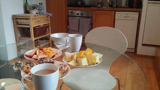 Blairscove House & Restaurant : Self catered breakfast
