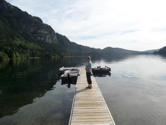 Horne Lake Caves Provincial Park: Lake time!