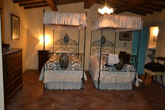 Villa Il Paradisino: Second Bedroom