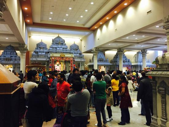 Hindu Temple of Minnesota: Inside Temple