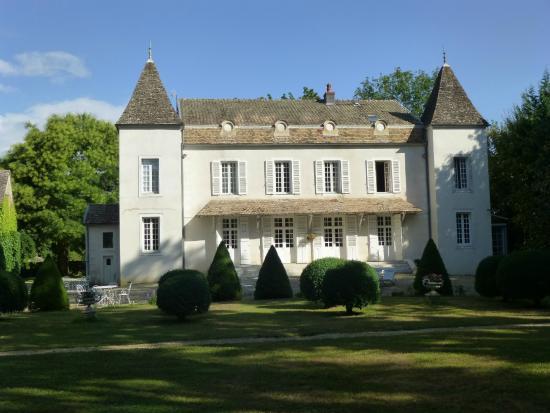 Domaine de Pellerey : View from the park