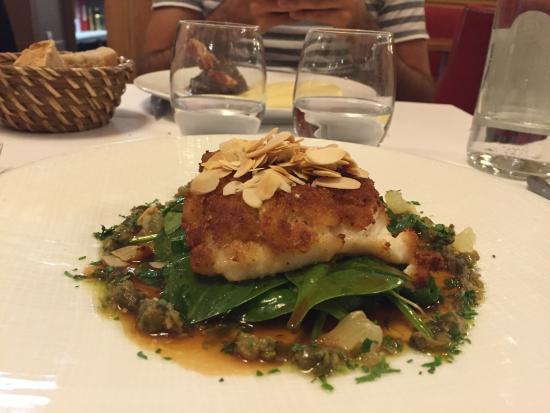 Le Bibent: Secondo piatto di pesce