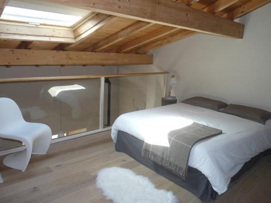 La chambre en mezzanine (très bonne literie 160*200) - Photo ...