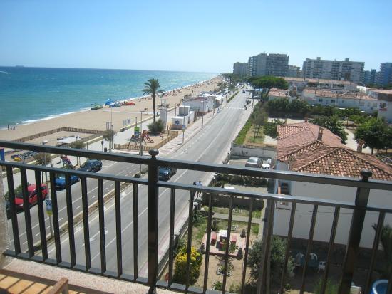 Hotel Horitzo : Terraza lateral