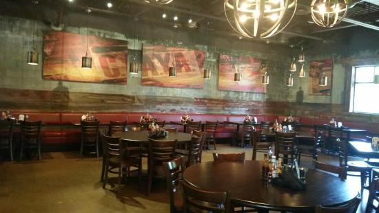 Caya Smoke House Grill Inside