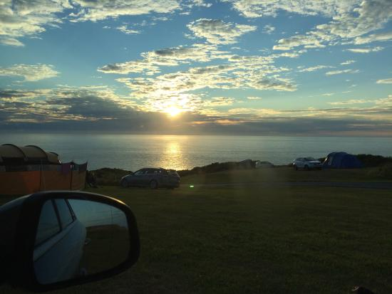 North Morte Farm Caravan & Camping Park : Best for sunsets