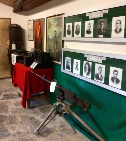 Carpasio, อิตาลี: Altra vista della sala principale