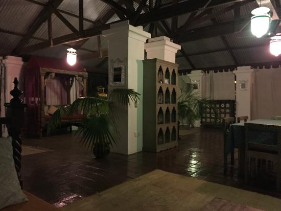 Swahili House: Romantica terrazza