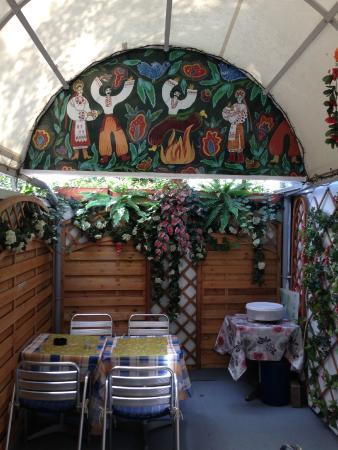 Watra: Kein wirklich schönes Gartenlokal