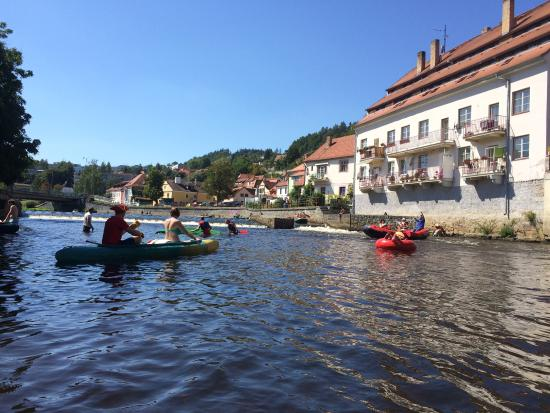 Vyssi Brod, สาธารณรัฐเช็ก: Day trip through Cesky Krumlov to Zlata Koruna