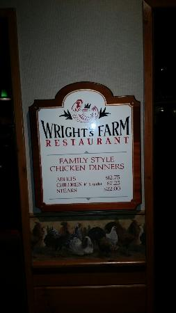 Wright's Chicken Farm Gift Shop