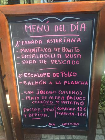 Don Angel: Menu del dis del 28/08/2015