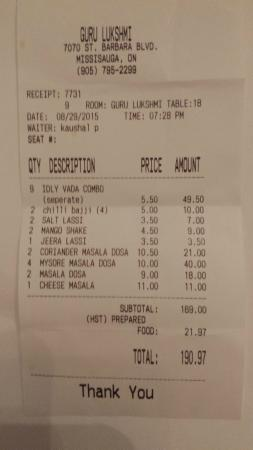 Tax On Restaurant Food In Ontario