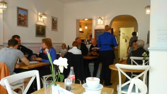 twentysix Cafe and Bistro Dartmouth : the interior