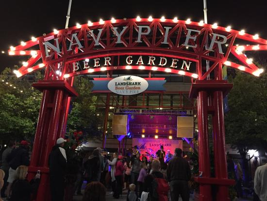 ‪LandShark Beer Garden at Navy Pier‬