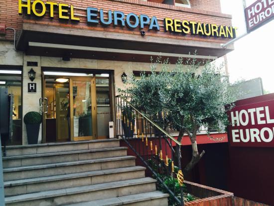 Hotel Europa: Exterior hotel
