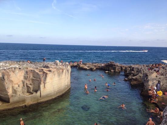 Piscine naturali foto di piscina naturale di marina - Piscina naturale puglia ...