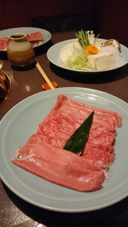 Ginza Rangetsu: お肉