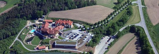 Landhotel Birkenhof: Luftbild