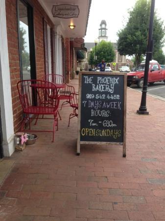 The Phoenix Bakery: Sidewalk View