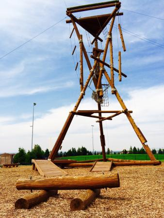 Rexburg, ID: BYU Idaho Ropes Course