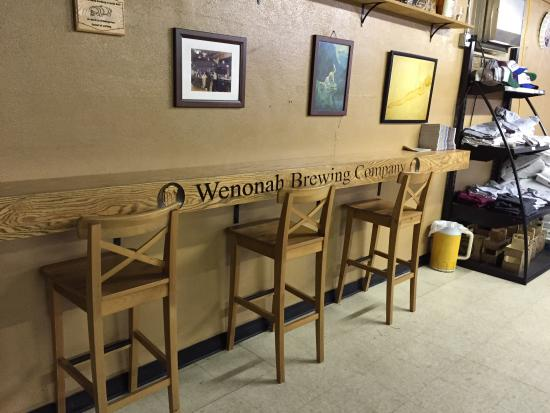 Wenonah Brewing Company: Wenonah brewery!